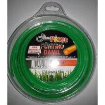 Green Power műanyag vágószál 2.7mm x 68m kör műanyag tekercs 0.5 kg