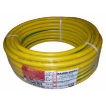 """""""Sárga kígyó"""" locsolótömlő csavarodásmentes duplaszövet 1/2"""" 25 m"""