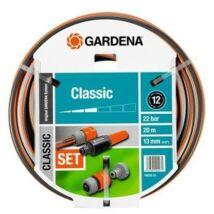 """Gardena 18008-20 Classic tömlő rendszerelemekkel 1/2"""" 20m"""