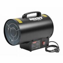 HECHT 3015 hőlégbefúvó tömlővel és gázreduktorral