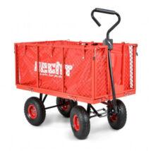 HECHT 52184 kerti szállító fogantyúval, kerti talicska (max terhelhetőség 300kg)