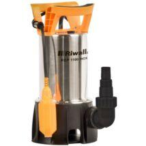 Riwall REP 1100 INOX univerzális búvár szennyvízszivattyú 1100W