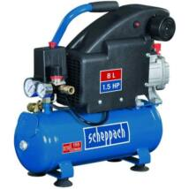 Scheppach HC 08 elektromos kompresszor 1100 W 8 L 8 bar