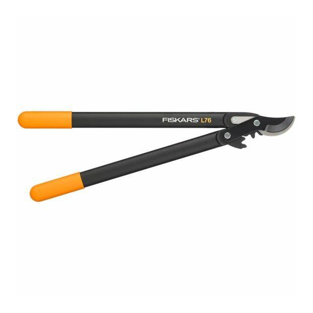 Fiskars 1001553 PowerGear™ műanyag fogaskerekes ágvágó,ollós fejű (M) L76