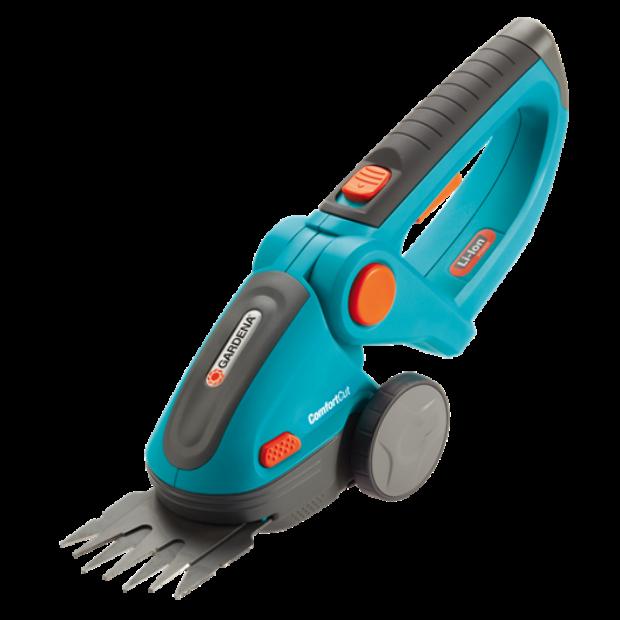 Gardena 8893-20 ComfortCut akkumulátoros fűnyíró olló (akkuval és töltővel)
