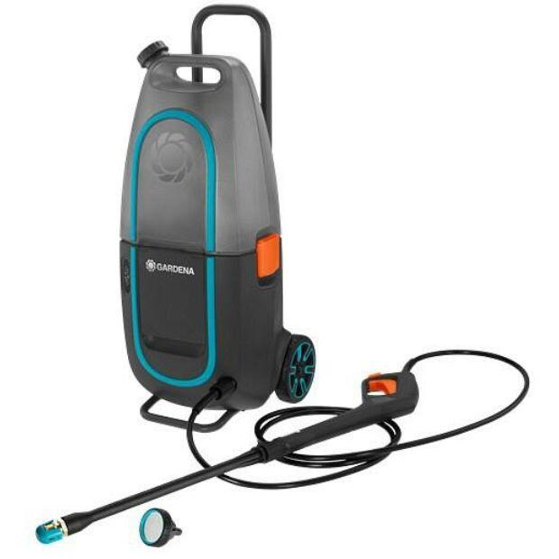Gardena 9341-55 AquaClean Li-40/60 magasnyomású mosó készlet (akku és töltő nélkül)