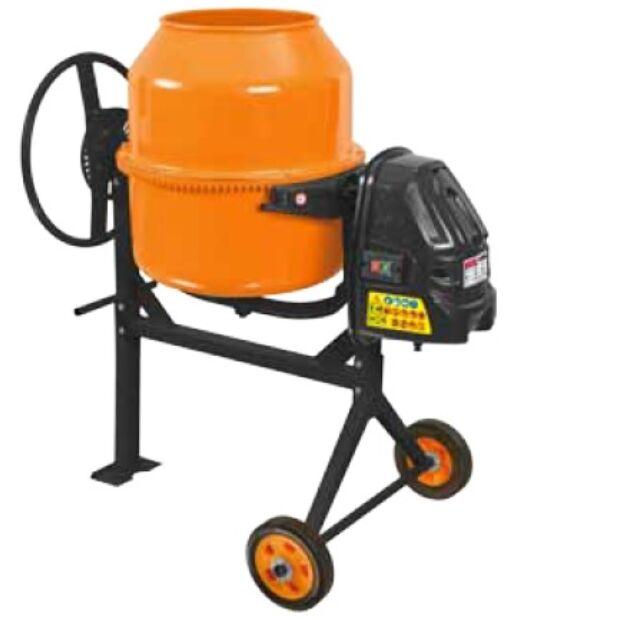 HECHT 2141 elektromos betonkeverő 650 W 140 L