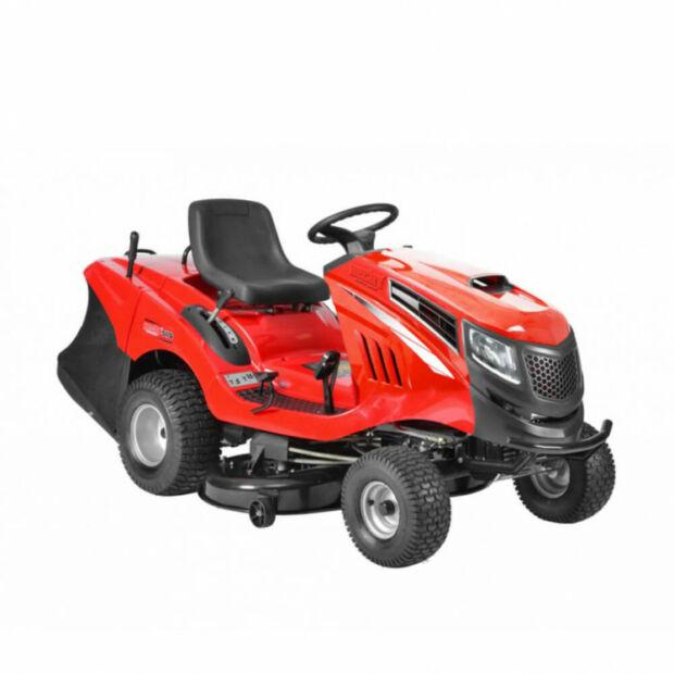 HECHT 5222 benzinmotoros fűnyíró traktor fűgyűjtővel Briggs & Stratton motor (BEÜZEMELVE SZÁLLÍTJUK)
