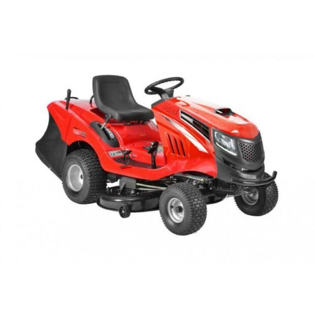 HECHT 5227 benzinmotoros kerti fűnyíró traktor fűgyűjtővel Briggs & Stratton motor (BEÜZEMELVE SZÁLLÍTJUK)