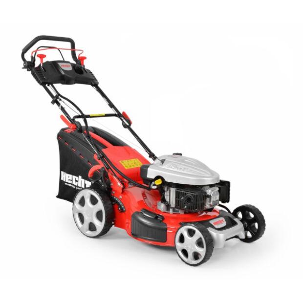 HECHT 5534 SWE 5in1 önjáró benzinmotoros fűnyíró 6 LE 51 cm