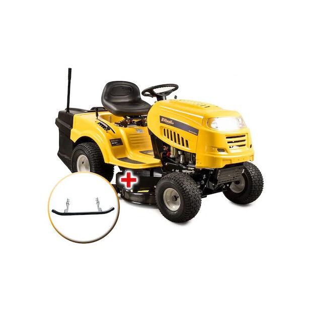 Riwall RLT 92 T benzinmotoros fűnyíró traktor fűgyűjtővel, 6-fokozatú Transmatic váltó, 92cm, 14.5LE, 240L gyűjtőkosár