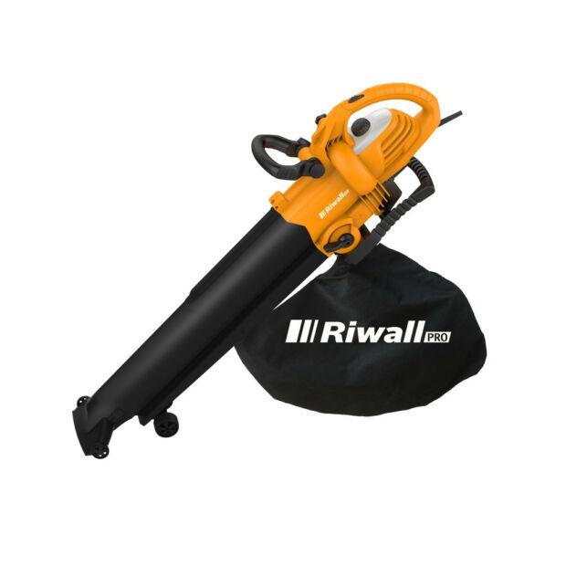 Riwall REBV 3000 elektromos lombfúvó-szívó