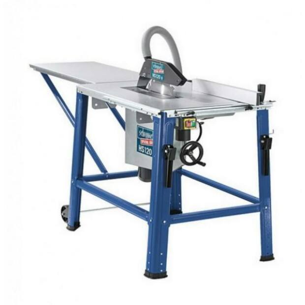 Scheppach HS 120 O elektromos asztali körfűrész PRO 2200W 230V