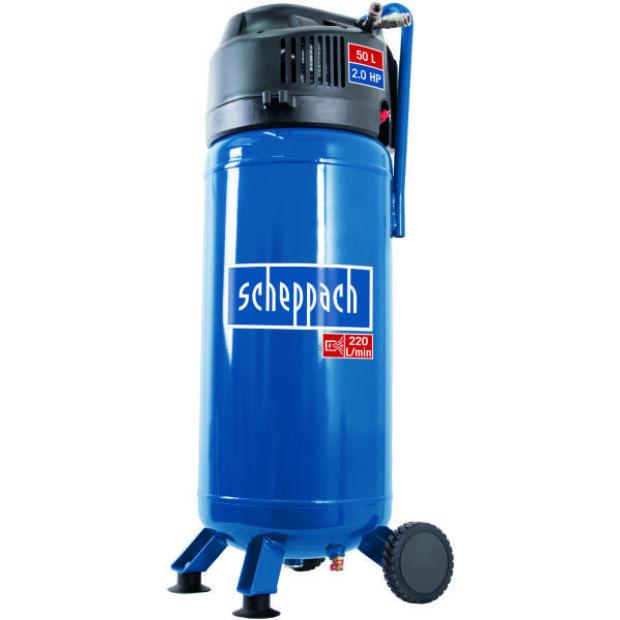 Scheppach HC 51 V elektromos kompresszor 1500 W 50 L 10 bar